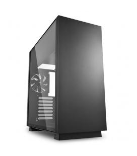 CAJA GAMING SHARKOON PURE STEEL ATX 2XUSB3.0 SIN FUENTE NEGRO