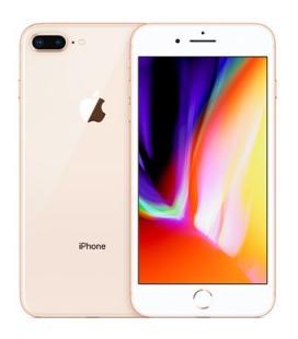 Telefono movil smartphone reware apple iphone 8 plus 64gb gold - 5.5pulgadas - lector huella - reacondicionado - refurbish - gra
