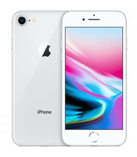 Telefono movil smartphone reware apple iphone 8 64gb silver - 4.7pulgadas - lector huella - reacondicionado - refurbish - grado