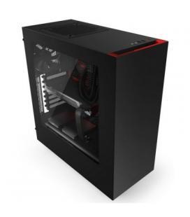NZXT Caja SemiTorre S340 Black/red
