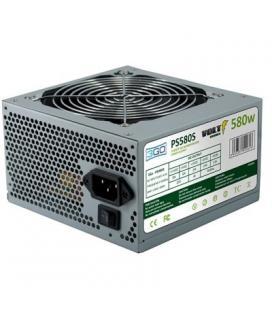 Fuente alimentación 3go ps580s - 580w - 20+4pin - 2*sata - ventilador 12cm - pfc pasivo