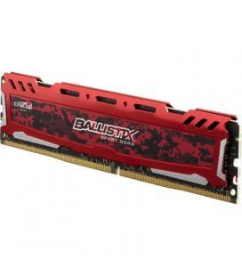 Crucial Ballistix Sport LT 16GB DDR4 2400MHz Roja - Imagen 1