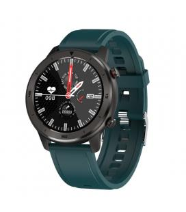 Reloj inteligente innjoo voom sport con correa color verde - pantalla 3.38cm - salud - notificaciones - bat.230mah -