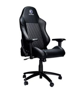Silla gaming millenium mc1 apoyabrazos 4d - inclinable hasta 180º - negra - Imagen 1