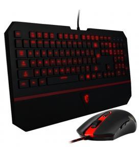 MSI Teclado + Raton Gaming negro USB