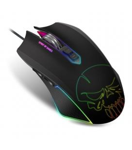 Ratón spirit of gamer elite-m40 - 6 niveles resolución - 7 botones - retroiluminacion led 10 efectos - usb - cable 1.6m -