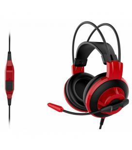 MSI Auricular+Mic DS501 Negro-Rojo