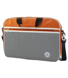 Maletín e-vitta retro bag orange - para portátiles hasta 11'-12.5'/ 27.9-31.75cm - acolchada y reforzada - 2 compartimentos