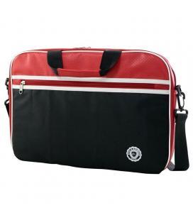 Maletín e-vitta retro bag red - para portátiles hasta 11'-12.5'/ 27.9-31.75cm - acolchada y reforzada - 2 compartimentos