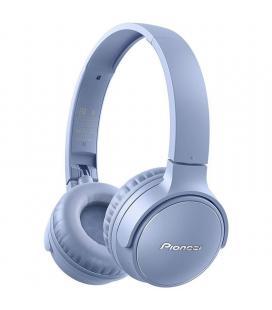 Auriculares bluetooth pioneer se-s3bt-l azules - bt5.0 - drivers 40mm - diseño plegable - función asistente de voz - función