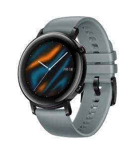 Reloj inteligente huawei gt2 sport 42mm gris azulado - pantalla 3.05cm amoled - bt5.1 - 5atm - notificaciones - frecuencia