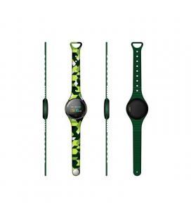 Reloj inteligente innjoo voom mini green black - pantalla color 2.4cm - bt 4.0 - ip68 - bat 120mah