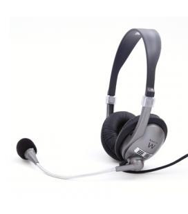 EWENT EW3561 Auriculares + Micrófono Stéreo negro