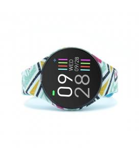 Reloj inteligente innjoo voom mini yellow - pantalla color 2.4cm - bt 4.0 - ip68 - bat 120mah