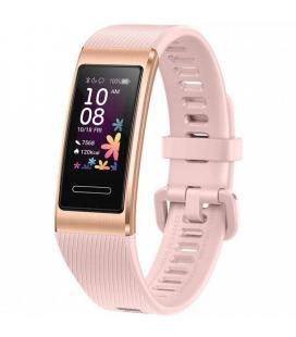 Pulsera cuantificadora huawei band 4 pro pink gold - pantalla 2.41cm color - bat 100mah - bt4.2 - frecuencia cardiaca - 5atm -