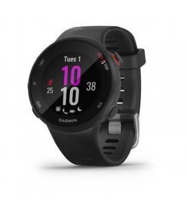 Reloj deportivo con gps garmin forerunner 45s negro - carcasa 39mm - multisport - notificaciones - 5atm - compatible con