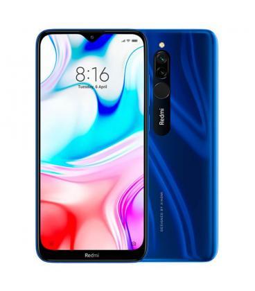 "SMARTPHONE MÓVIL XIAOMI REDMI 8 SAPPHIRE BLUE - 6.22""/15.8CM - SNAPDRAGON 439 - 4GB RAM - 64GB - CAM 12+2/8 MP - 4G"