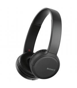Auriculares bluetooth sony ch510 negros - bt5.0 - drivers 30mm - compatible asistentes de voz - usb tipo-c - función manos