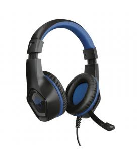 Auriculares con micrófono trust gaming gxt 404b rana para ps4 - drivers 40mm - mando a distancia integrado para control volumen