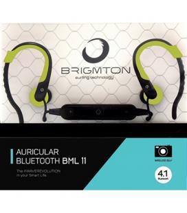 Brigmton Auricular+Mic BML-11-V Bluetooth Verde
