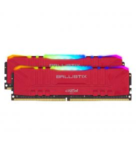 MEMORIA CRUCIAL DIMM DDR4 16GB (KIT2*8GB) 3200MHZ CL16 BALLISTIX RED RGB