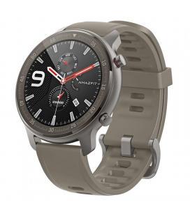 Reloj inteligente huami amazfit gtr 47mm titanium - pantalla 3.53cm amoled - bt 5.0 - wifi - pulsómetro - notificaciones - ip68