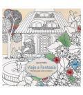 Libro de colorear mándalas grafoplas 16600110 viaje a fantasía - 36 laminas simples/12 dobles - 25*25cm - 160g/m2 - cubierta