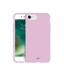Funda xqisit 36808 cherry blossom pink para iphone 6/6s/7/8 - compatible con carga inalámbrica - ecológica y biodegradable