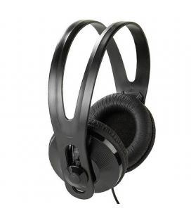 Auriculares para tv vivanco 36503 - drivers 40mm - control de volumen - cable 5m - jack 3.5mm+adaptador 6.35mm