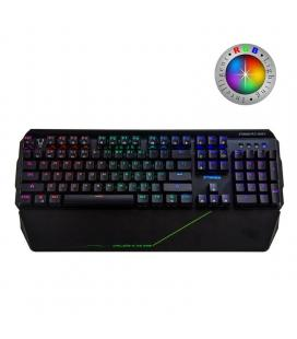 Teclado mecánico gaming woxter stinger rx 2000 k - 104 teclas antighost - switches byk816 -  retroiluminacion led rgb - cable -