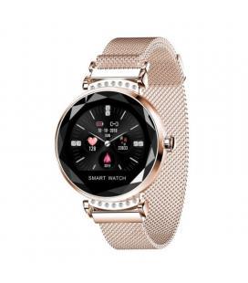Reloj inteligente innjoo lady crystal gold - registro distancia - ritmo cardiaco - monitorización sueño - waterproof