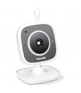 Vigilabebes beurer by-88 baby monitor smart y vídeo - cámara hd wifi orientable - 14 canales - visión nocturna - app beurer
