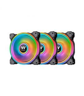 VENT 140X140 THERMALTAKE RING QUAD RGB PACK 3UDS RADIATOR F