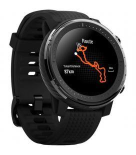 Reloj inteligente huami amazfit stratos 3 black - pantalla 3.4cm - bt - sensor frecuencia cardiaca - gps - notificaciones -