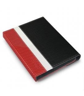 Funda subblim clever ebook para e-reader 6'/15.24cm red - material exterior símil fibra de carbono - cierre mediante solapa - Im