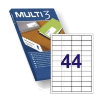 Etiquetas adhesivas - multi3 - 48.5 x 25.4 mm -apli
