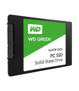 """DISCO SÓLIDO WESTERN DIGITAL GREEN 3D NAND 240GB - SATA III - 2.5""""/6.35CM - 7MM - LECTURA 545MB/S - ESCRITURA 405MB/S"""