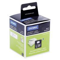Etiquetas dymo label writer papel para direcciones. 130 x 2 rollos blancas de 89x28mm