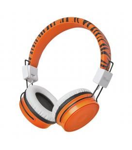 Auriculares bluetooth infantiles trust comi orange - bt - drivers 40mm - micrófono omnidireccional - alcance 10m - micro usb