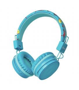 Auriculares bluetooth infantiles trust comi blue - bt - drivers 40mm - micrófono omnidireccional - alcance 10m - micro usb