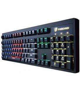 TESORO Excalibur Mechanical - Teclado Completo (LED RGB, con Interruptor), Color Azul