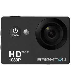Brigmton Camara Deportiva HD 1080p 170º 30FPS Negr