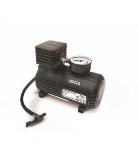 Compresor de aire jocca 8530 - 300psi - 12v - longitud cable mechero 3m - longitud manguera aire 50cm - manómetro - medidas: - I