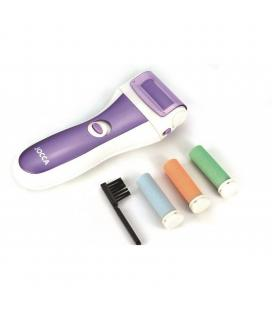 Limador de durezas jocca 6286 - incluye 3 recambios / cepillo - rodillos fáciles de limpiar - 2*pilas aa - Imagen 1