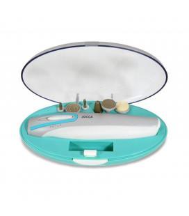 Set de manicura y pedicura jocca 6288 - 2 velocidades de rotación - incluye 6 accesorios y estuche - Imagen 1