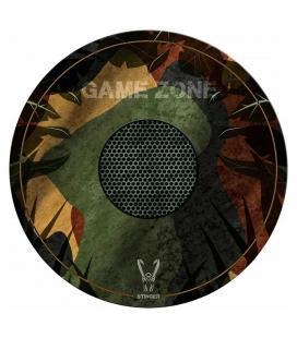 Alfombra gaming woxter stinger floorpad camuflaje - diámetro 120cm - microfibra con base caucho - lavable - Imagen 1