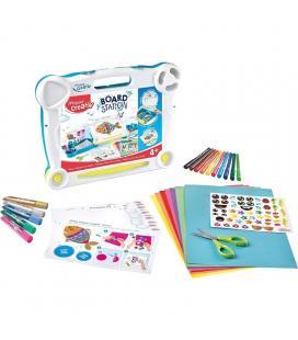 Maletín creativo maped board station - contiene 10 rotus / pegatinas / 5 tubos pegamento / tutoriales con actividades creativas