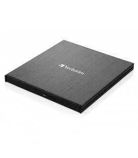Grabadora externa slimline blu-ray verbatim 43889 - dvd 8x - bluray 6x - bdxl 4x - compatible con mdisc - usb 3.1 gen 1 usb - Im