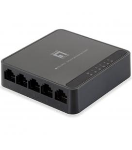 Switch sobremesa level one 5 puertos fast ethernet 10 - 100