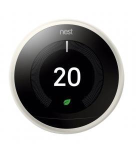 Termostato google nest learning 3ª generación t3030ex blanco - 6 sensores - controla donde estés - bat.recargable